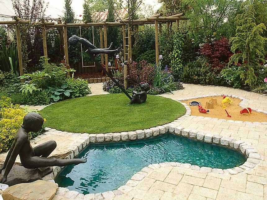 Come realizzare un giardino per i bambini giardinaggio - Realizzare un giardino ...