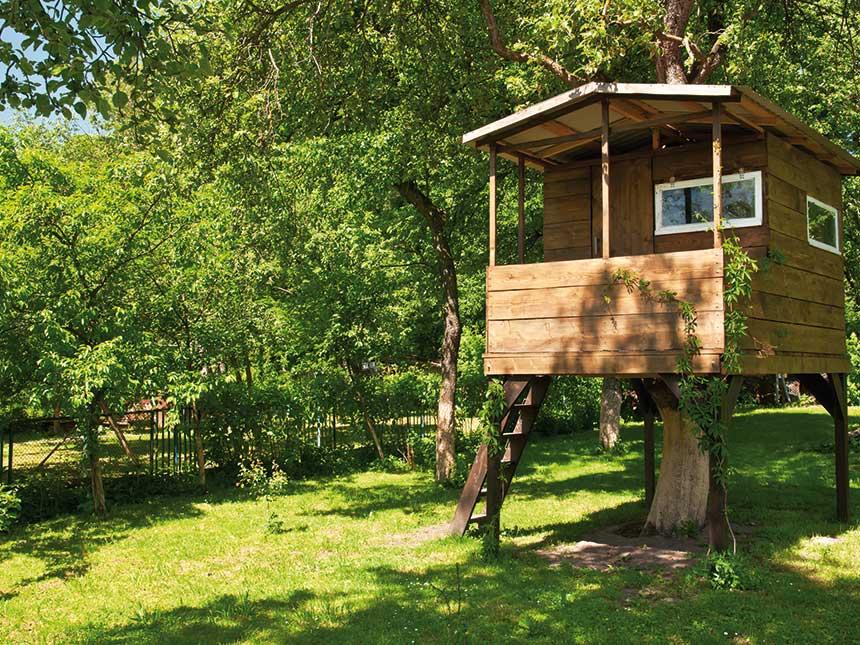 La casa sull 39 albero un mondo meraviglioso giardinaggio for Kit per costruire casa sull albero